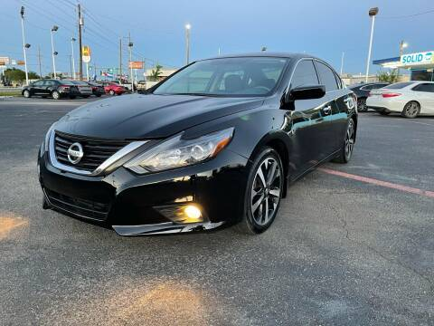 2018 Nissan Altima for sale at SOLID MOTORS LLC in Garland TX