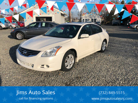 2010 Nissan Altima for sale at Jims Auto Sales in Lakehurst NJ