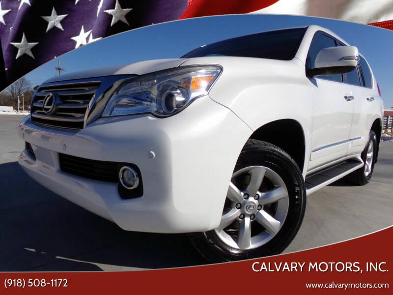 2012 Lexus GX 460 for sale at Calvary Motors, Inc. in Bixby OK