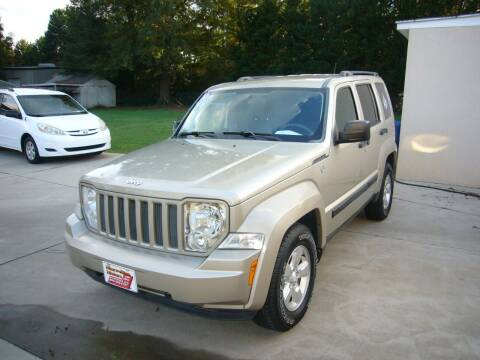 2010 Jeep Liberty for sale at MAXWELLTON MOTORS in Greenwood SC