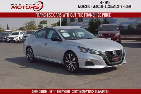 2019 Nissan Altima for sale at Choice Motors in Merced CA