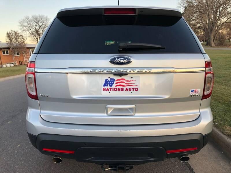 2013 Ford Explorer AWD XLT 4dr SUV - Denver CO