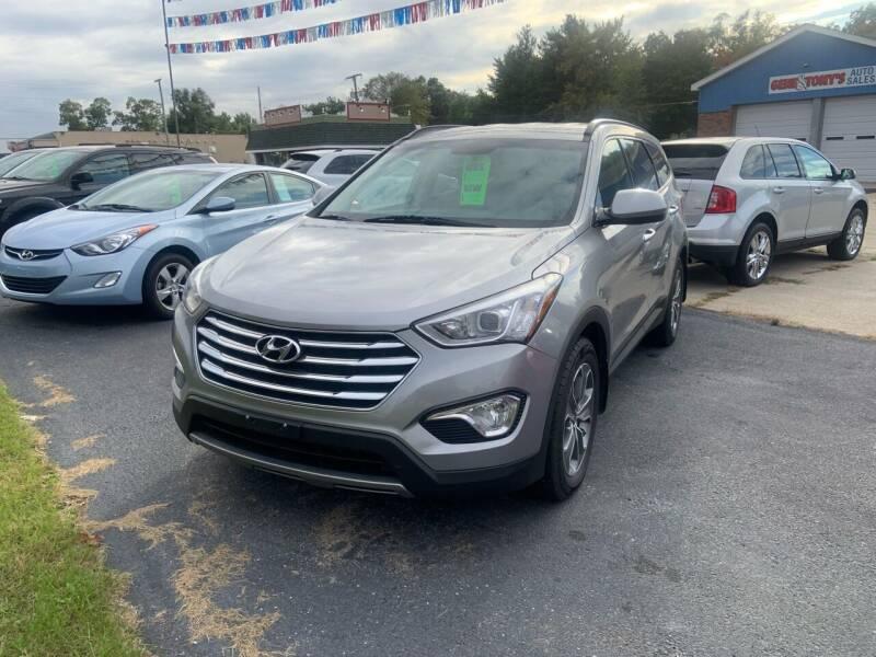 2016 Hyundai Santa Fe for sale at GENE AND TONYS DEMOTTE AUTO SALES in Demotte IN