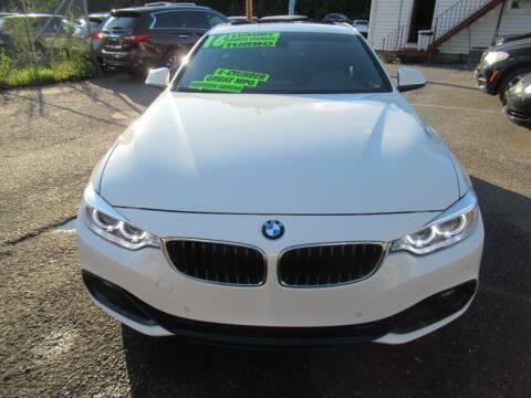 2016 BMW 4 Series for sale at Balic Autos Inc in Lanham MD