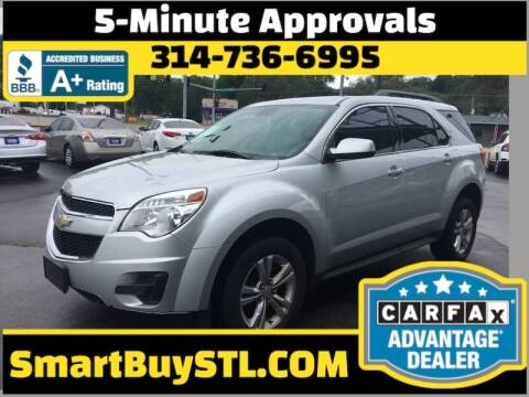 2012 Chevrolet Equinox for sale at Smart Buy Car Sales in St. Louis MO