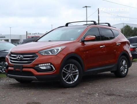 2018 Hyundai Santa Fe Sport for sale at BIG STAR HYUNDAI in Houston TX