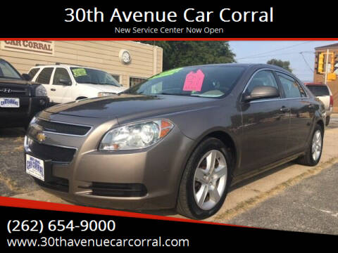 2011 Chevrolet Malibu for sale at 30th Avenue Car Corral in Kenosha WI