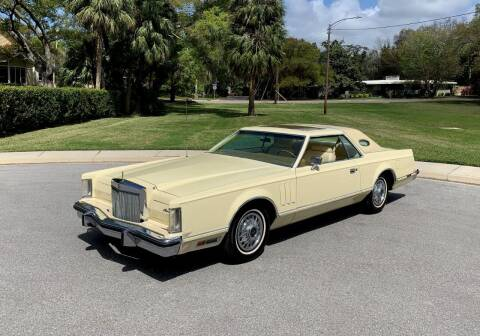 1979 Lincoln Mark V for sale at P J'S AUTO WORLD-CLASSICS in Clearwater FL