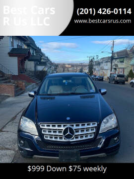 2010 Mercedes-Benz M-Class for sale at Best Cars R Us LLC in Irvington NJ
