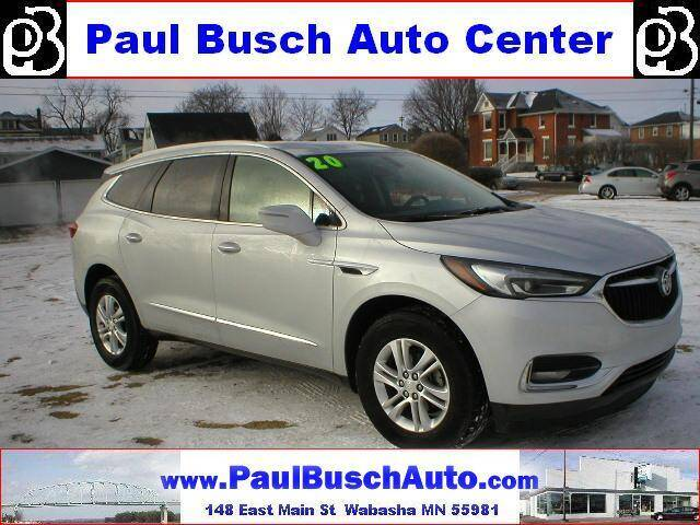 2020 Buick Enclave for sale at Paul Busch Auto Center Inc in Wabasha MN