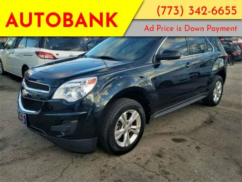 2012 Chevrolet Equinox for sale at AutoBank in Chicago IL