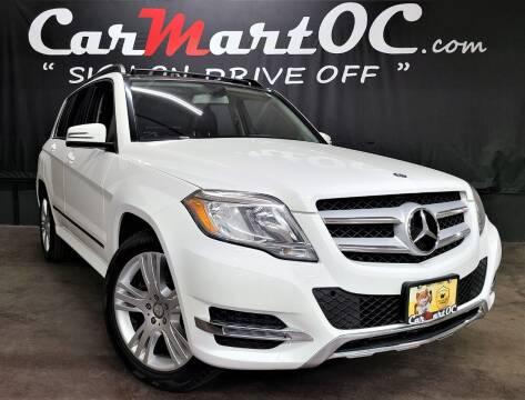 2015 Mercedes-Benz GLK for sale at CarMart OC in Costa Mesa, Orange County CA