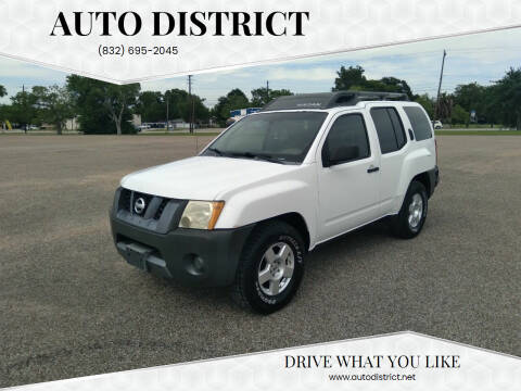 2007 Nissan Xterra for sale at Auto District in Baytown TX
