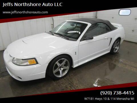 1999 Ford Mustang SVT Cobra for sale at Jeffs Northshore Auto LLC in Menasha WI