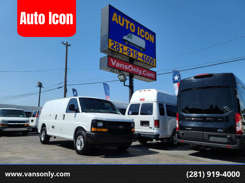 2016 Chevrolet Express Cargo for sale at Auto Icon in Houston TX
