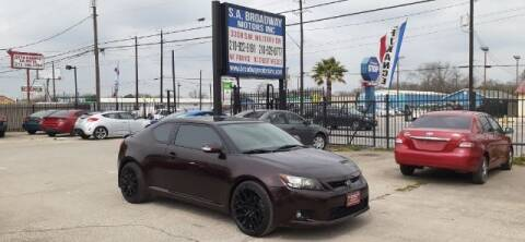 2011 Scion tC for sale at S.A. BROADWAY MOTORS INC in San Antonio TX