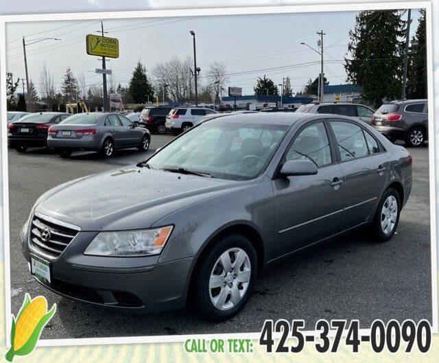 2009 Hyundai Sonata for sale at Corn Motors in Everett WA