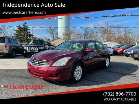 2012 Nissan Altima for sale at Independence Auto Sale in Bordentown NJ