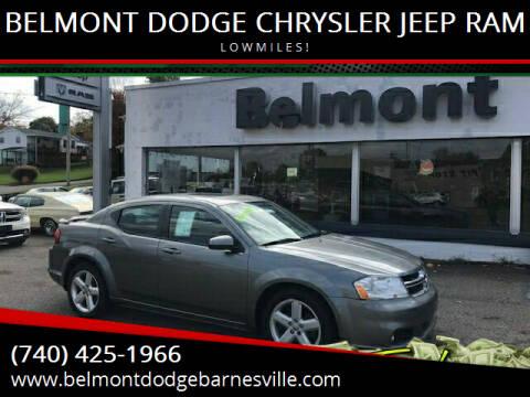 2012 Dodge Avenger for sale at BELMONT DODGE CHRYSLER JEEP RAM in Barnesville OH