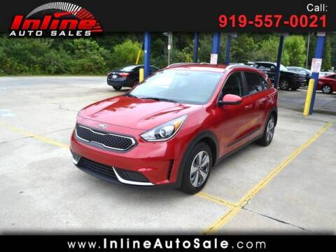 2019 Kia Niro for sale at Inline Auto Sales in Fuquay Varina NC