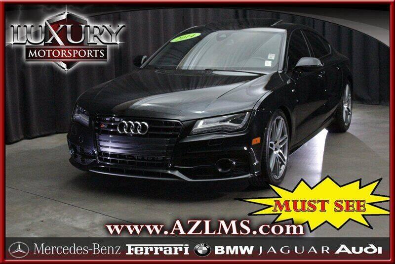 2014 Audi S7 for sale at Luxury Motorsports in Phoenix AZ