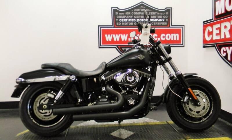 2016 Harley-Davidson DYNA FAT BOB 103 for sale at Certified Motor Company in Las Vegas NV