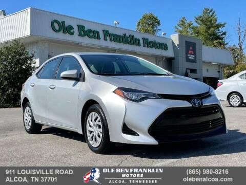 2018 Toyota Corolla for sale at Ole Ben Franklin Motors-Mitsubishi of Alcoa in Alcoa TN