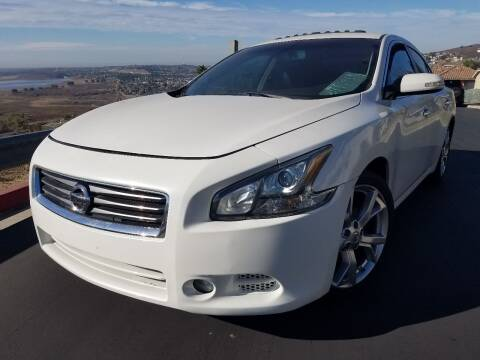 2012 Nissan Maxima for sale at Trini-D Auto Sales Center in San Diego CA