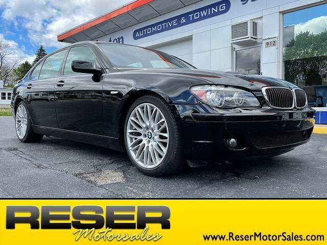 2008 BMW 7 Series for sale at Reser Motorsales in Urbana OH