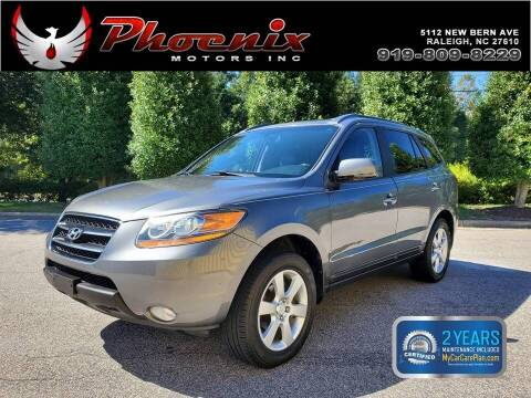 2009 Hyundai Santa Fe for sale at Phoenix Motors Inc in Raleigh NC