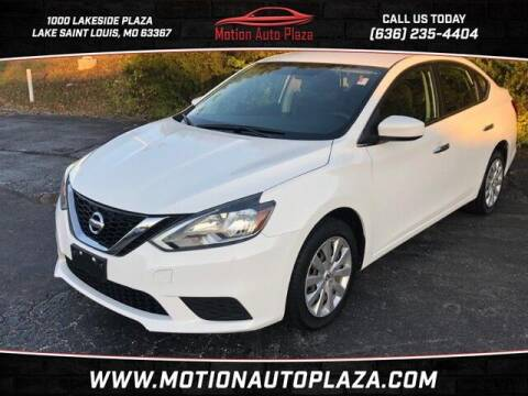 2017 Nissan Sentra for sale at Motion Auto Plaza in Lakeside MO