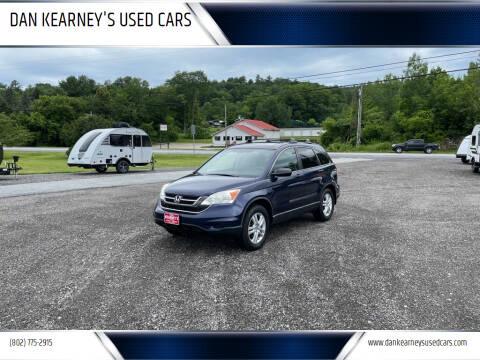 2011 Honda CR-V for sale at DAN KEARNEY'S USED CARS in Center Rutland VT