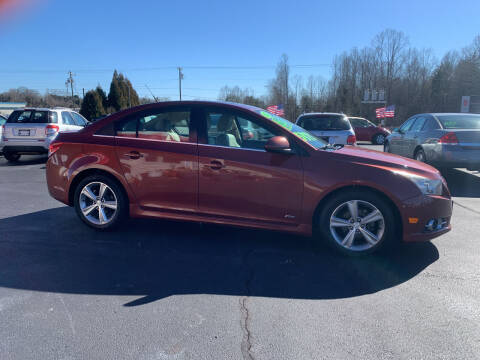 2012 Chevrolet Cruze for sale at Doug White's Auto Wholesale Mart in Newton NC