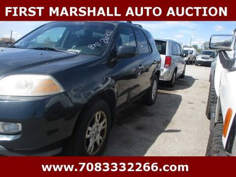 2005 Acura MDX for sale at First Marshall Auto Auction in Harvey IL