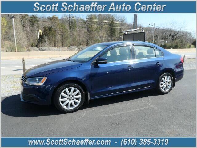 2012 Volkswagen Jetta for sale at Scott Schaeffer Auto Center in Birdsboro PA