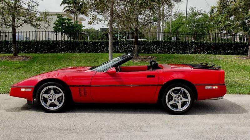 1990 Chevrolet Corvette for sale at Premier Luxury Cars in Oakland Park FL