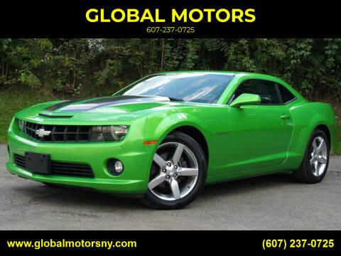 2010 Chevrolet Camaro for sale at GLOBAL MOTORS in Binghamton NY