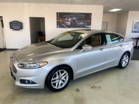 2013 Ford Fusion for sale at Used Car Outlet in Bloomington IL