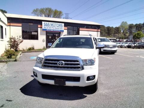2016 Toyota Sequoia for sale at S & S Motors in Marietta GA