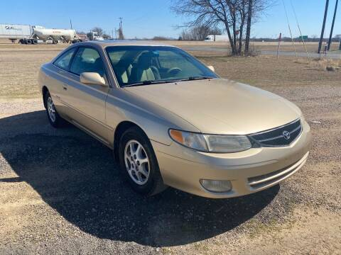 2001 Toyota Camry Solara for sale at CAVENDER MOTORS in Van Alstyne TX