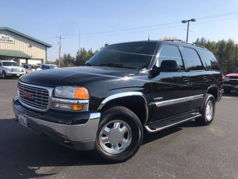 2002 GMC Yukon for sale at Lakes Area Auto Solutions in Baxter MN