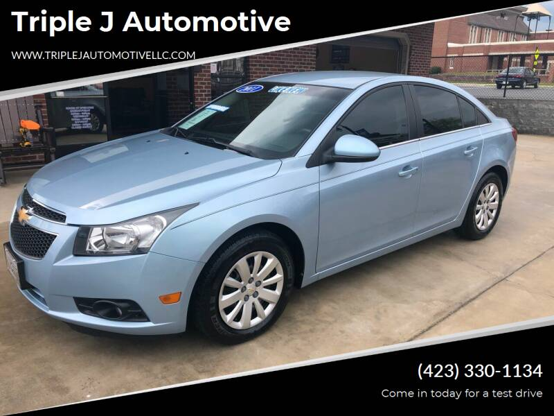2011 Chevrolet Cruze for sale at Triple J Automotive in Erwin TN