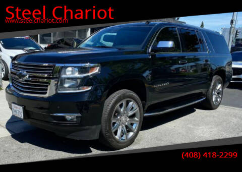 2015 Chevrolet Suburban for sale at Steel Chariot in San Jose CA