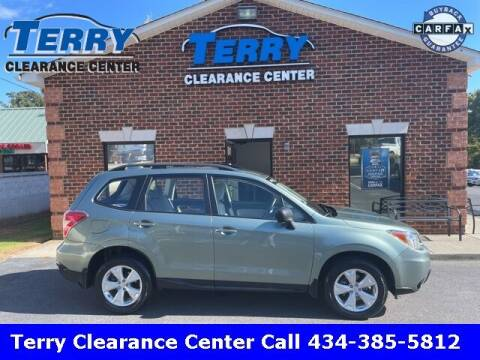 2016 Subaru Forester for sale at Terry Clearance Center in Lynchburg VA