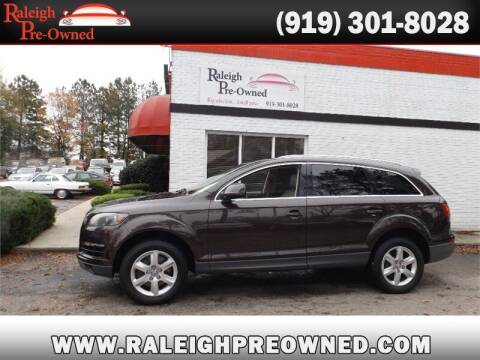 2012 Audi Q7 for sale at Raleigh Pre-Owned in Raleigh NC