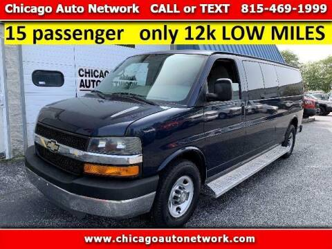 2011 Chevrolet Express Passenger for sale at Chicago Auto Network in Mokena IL