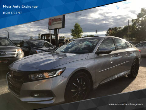 2018 Honda Accord for sale at Mass Auto Exchange in Framingham MA
