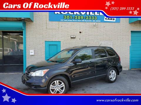 2010 Honda CR-V for sale at Cars Of Rockville in Rockville MD