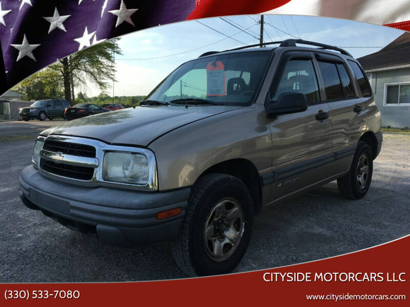 2003 Chevrolet Tracker for sale at CITYSIDE MOTORCARS LLC in Canfield OH