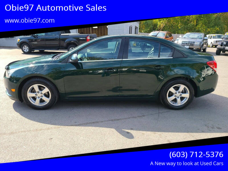 2014 Chevrolet Cruze for sale at Obie97 Automotive Sales in Londonderry NH
